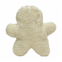 Diggers White Gingerbread Man Plush Fleece Animal Assortment Large 1 - Case Of: 1;