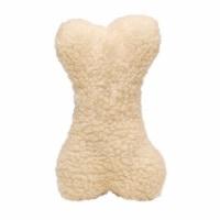 Diggers White Bone Plush Fleece Animal Assortment Large 1 - Case Of: 1;