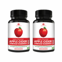 Apple Cider Vinegar Gummies with Pomegranate, Beet Root And Vitamin B6 (2 bottles) - 1 unit