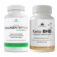 Hydrolized Collagen Peptides plus Keto BHB Combo Pack - 1 unit