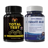 Total Test Testosterone Booster and Parasite Blast Combo Pack - 1 unit