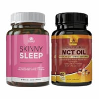 Skinny Sleep and MCT Oil Combo Pack - 1 unit