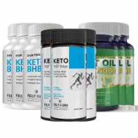 Fully Flora Keto Strips and Keto BHB and MCT Oil Combo Pack