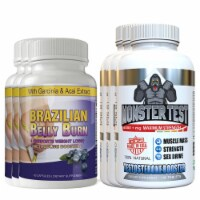 Brazilian Belly Burn and Monster Test Combo Pack - 1 unit