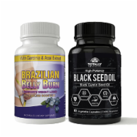 Brazilian Belly Burn and Black Seed Oil Combo Pack - 1 unit