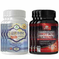 L-Glutamine and Amino Acid Extreme Combo pack - 1 unit