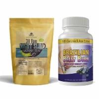 Night Slim Skinny Tea and Brazilian Belly Burn Combo Pack - 1 unit