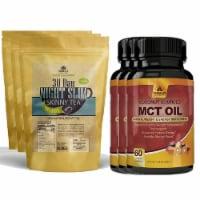 Night Slim Skinny Tea and MCT Oil Combo Pack - 1 unit