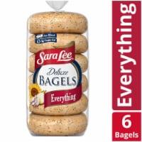 Sara Lee Deluxe Everything Bagels