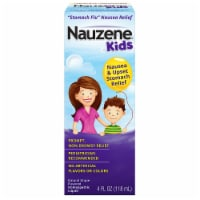 Nauzene Kids Grape Upset Stomach Relief Liquid
