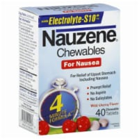Nauzene Wild Cherry Chewables
