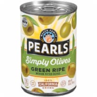 Pearls Green Ripe Medium Pitted California Olives