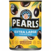 Pearls Extra Large Pitted California Ripe Olives