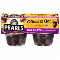 Pearls Pitted Kalamata Olives to Go!