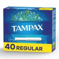 Tampax Regular Cardboard Applicator Tampons
