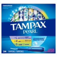 Tampax Pearl LeakGuard Scented Tampons Triple Pack