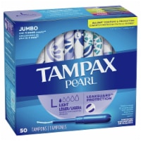 Tampax Peal Light Unscented Tampons