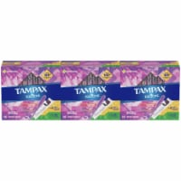 Tampax Radiant Variety Absorbency Tampons Duopack