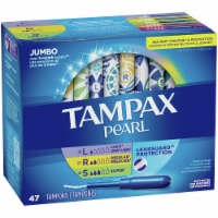 Tampax Pearl Light/Regular/Super Unscented Tampons Multipack