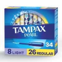 Tampax Pearl Unscented Tampons Duopack