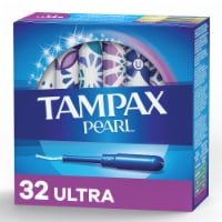 Tampax Pearl Ultra Absorbency Unscented Tampons