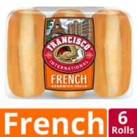 Francisco French Sandwich Rolls 6 Count