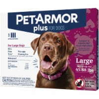 PetArmor Plus Large Dog Flea & Tick Squeeze-On Applications