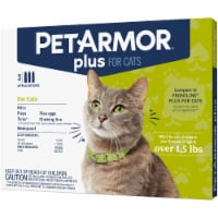 PetArmor Plus Flea Tick & Lice Drops for Cats