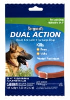 Sergeant's Dual Action Flea & Tick Collar For Large Dogs