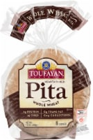 Toufayan Whole Wheat Pita Loaves 6 Count