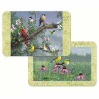 Counter Art CART49880 Beautiful Songbirds Reversible Plastic Placemat