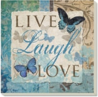 Counter Art Live Laugh Love Coaster - 4 Pack