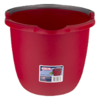 Sterilite® Spout Pail - Red - 10 qt