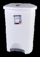 Sterilite Step-on Wastebasket - White