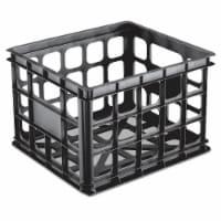 Sterilite Storage Crate - Black - 1 ct