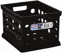 Sterilite Mini Storage Crate - Black - 1 ct