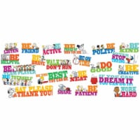 Peanuts® Be The Best You Can Be Bulletin Board Set - 1
