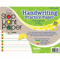 Eureka EU-805107 Stop Light 100 Count Practice Paper