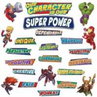 Eureka EU-847045 Marvel Super Hero Adventure Hero Traits Mini Bulletin Board Sets