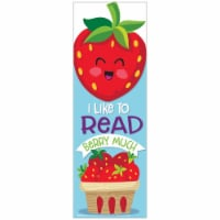 Strawberry Scented Bookmarks, Pack of 24 - 1