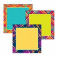 Eureka EU-841366 Plaid Attitude Squares Paper Cutout - 1