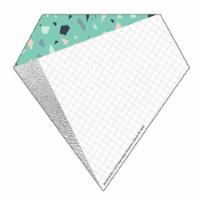 Eureka EU-841022 5.5 x 5.5 in. Simply Sassy Diamonds Paper Cutouts