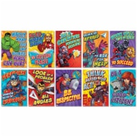 Marvel™ Motivational Poster Set Bulletin Board Set, 10 Posters - 1