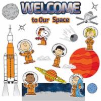 Peanuts® NASA Welcome Mini Bulletin Board Set
