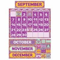 Positively Paisley Calendar Bulletin Board Set - 1
