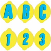 Always Try Your Zest Deco Letters, 243 Pieces - 1
