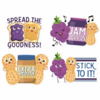 Eureka EU-628007 Peanut Butter & Jelly Scented Stickers