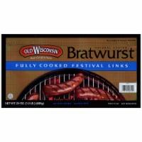 Old Wisconsin Bratwurst Fully Cooked Festival Links