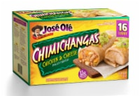 Jose Ole Chicken & Cheese Chimichangas 16 Count