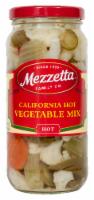 Mezzetta California Hot Mix Vegetables - 16 fl oz